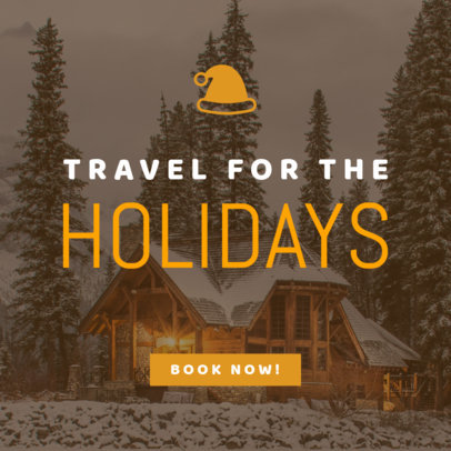 Online Banner Maker for Holiday Travels 779g-1839