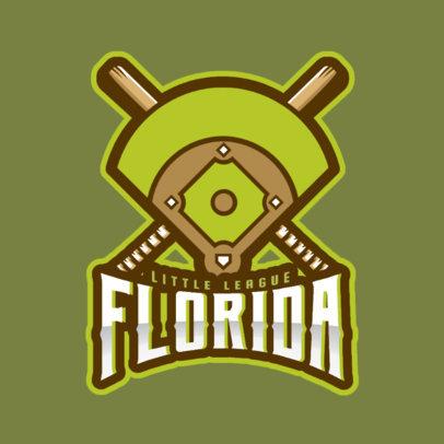 Sports Logo Maker Featuring a Baseball Field 172y-2545