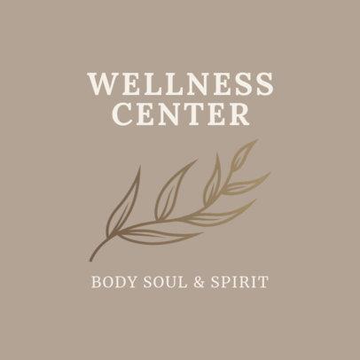 Alternative Medicine Logo Maker for a Wellness Center 2578b