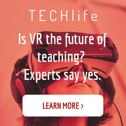 Online Banner Creator for Tech and VR Education 16610d-1