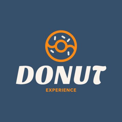 Online Logo Maker for a Doughnut Shop 1011g-40-el