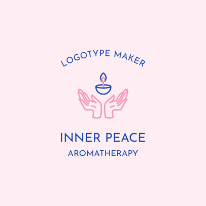 Aromatherapy Logo Template for Wellness Products 2580b