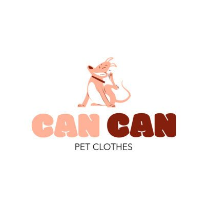 Logo Maker for a Dog Clothing Store 2582a
