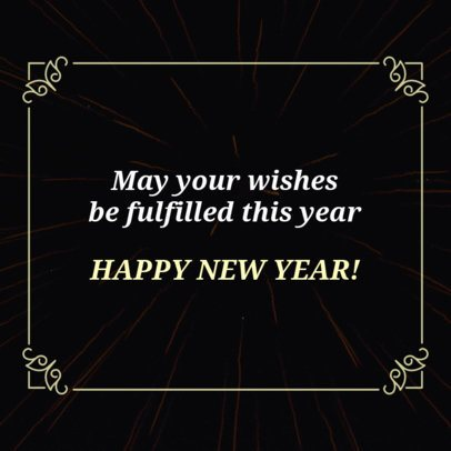 Instagram Post Maker for a Happy New Year's Message 16613f 1858