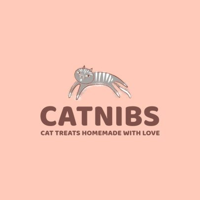 Logo Maker for a Cat Food Company 2582e