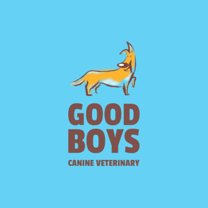 Logo Maker for a Canine Veterinary 2582f