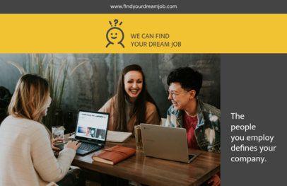 Online Flyer Maker for a Recruitment Company 229b