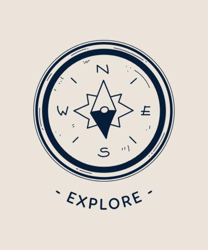 T-Shirt Design Maker for Adventurers 1847a