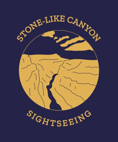 T-Shirt Design Creator for Sightseeing Aficionados 1847e