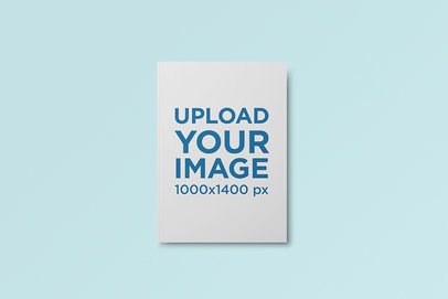 Hard Cover Book Mockup Featuring a Customizable Background 732-el
