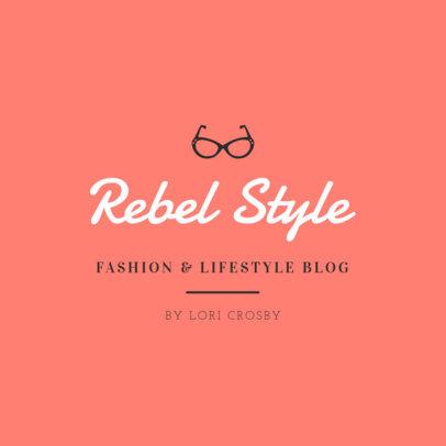 Fashion Blog Logo Maker with a Vintage Style 1408g-49-el