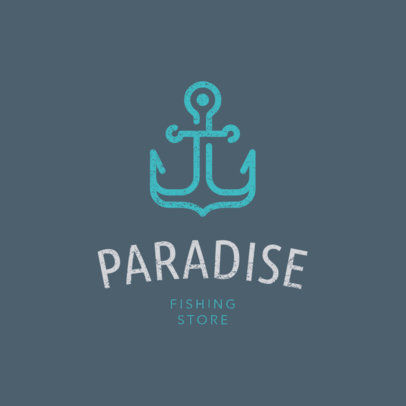 Minimalist Logo Maker for a Fishing Store 1794f 56-el