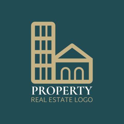 Logo Maker for a Real Estate Company 1349f 44-el