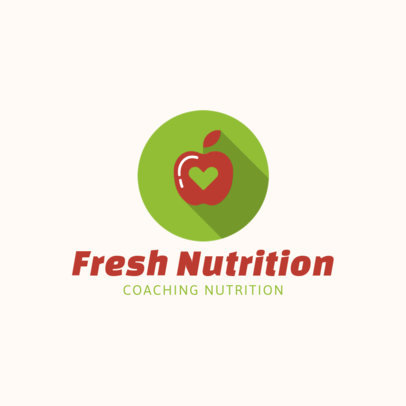 Online Logo Generator for a Nutrition Coach 2459g 47-el