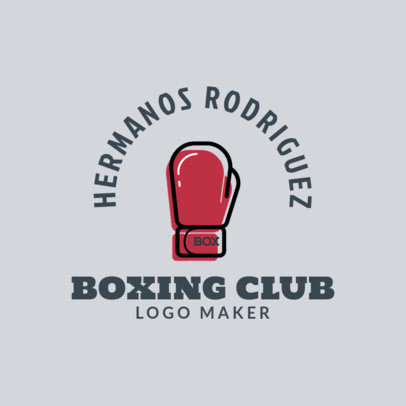 Online Logo Generator for a Boxing Club 1584f 28-el