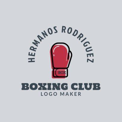 Online Logo Generator for a Boxing Club 1584f 28-el
