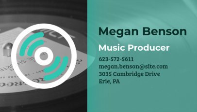 Business Card Maker for Music Producers 101f 19-el