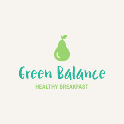 Online Logo Template for a Healthy Breakfast Restaurant 1267f 53-el