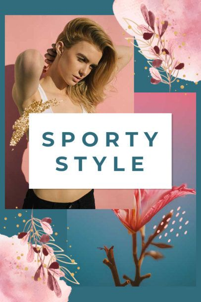 Pinterest Post Maker for a Sporty-Themed Collage 1901h