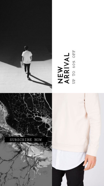 Collage-Style Instagram Story Generator for a Clothing Brand's Latest Arrivals 969f 1882