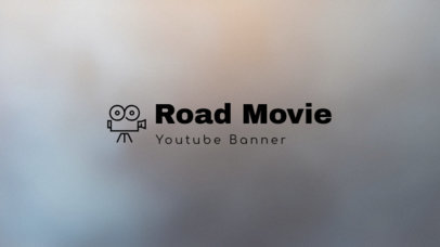 YouTube Banner Maker for Movie Review Channels 403f 52-el