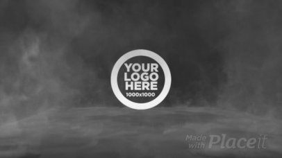 Epic Intro Maker for a Logo Reveal Featuring Animated Smoke 1850