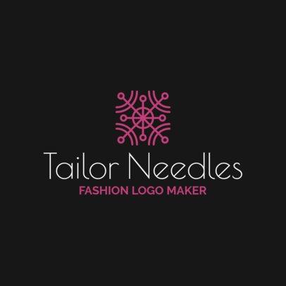 Bold Logo Maker for a Fashion Designer 1311i-2618