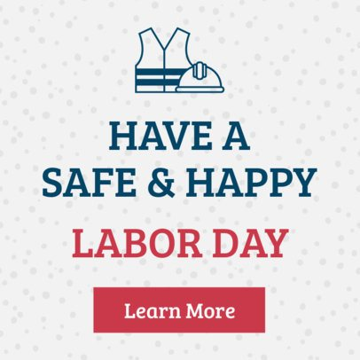 Banner Maker for a Labor Day Related Offer 16614p-1693