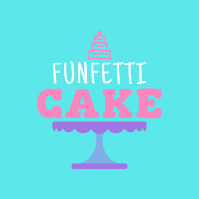 Logo Maker for a Festive Patisserie 1114f-57-el