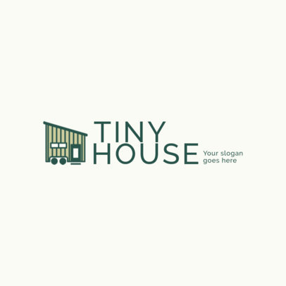 Logo Template for a Tiny Houses Projects Company