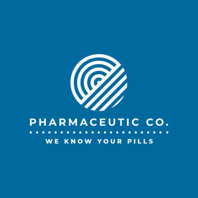 Abstract Logo Generator for Pharmaceutical Companies 1856g-2639