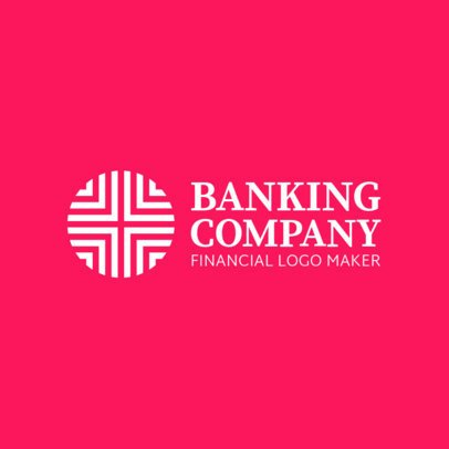Abstract Logo Generator for a Banking Company 1160k-2639