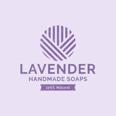 Handmade Soaps Logo Generator with an Abstract Style 1192f-2639