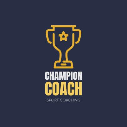 Sports Coach Logo Generator 1080g 93-el
