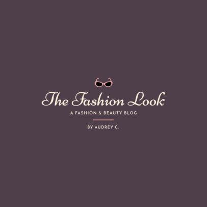 Beauty Logo Template for a Fashion Blog 1408i 48-el