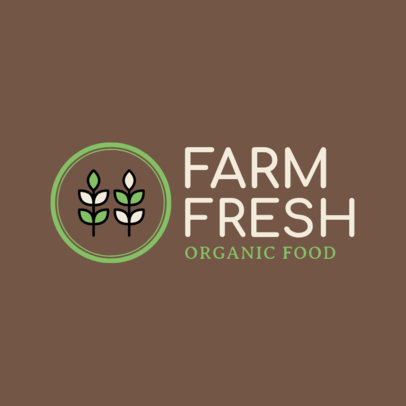 Online Logo Maker for an Organic Food Store 1190h 78-el