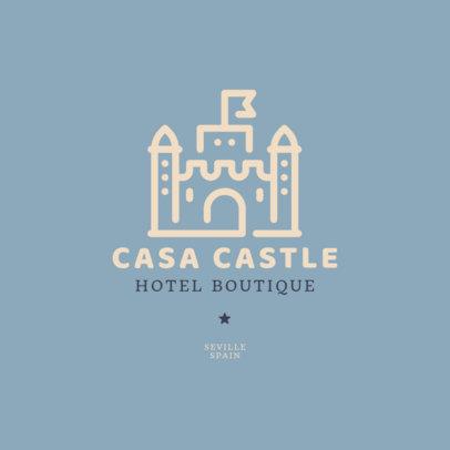 Logo Maker for a Boutique Hotel 2330h-73-el