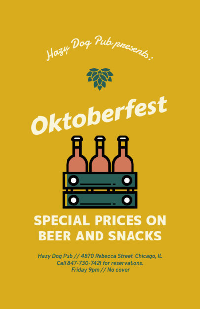 Online Flyer Maker for an Oktoberfest Celebration 94f-88-el