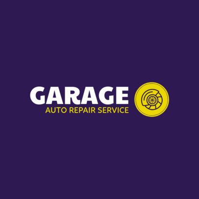 Simple Online Logo Generator for an Auto Repair Shop 1407f 85-el