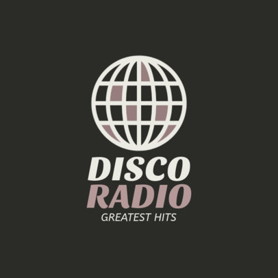 Retro-Styled Logo Design Maker for a Greatest Hits Podcast 1184j-96-el