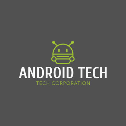 Online Logo Template for Technology Companies 1135h 107-el