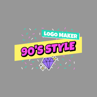 Logo Generator with a 90's Hip-Hop Vibe 2628e