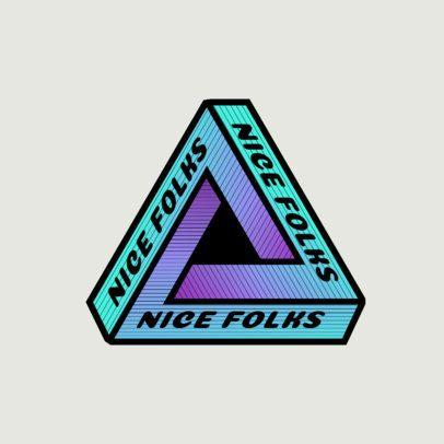 Hypnotic Logo Maker for a Skating Clothing Brand 2649e