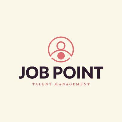 Talent Management Logo Template for HR Agencies 1452f 76-el