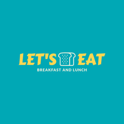 Logo Design Maker for a Breakfast and Lunch Restaurant