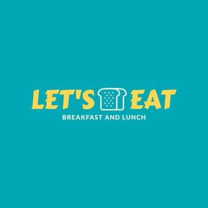Logo Design Maker for a Breakfast and Lunch Restaurant 1357g-39-el