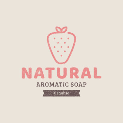 Logo Design Template for an Organic Soap Store 1192g-39-el