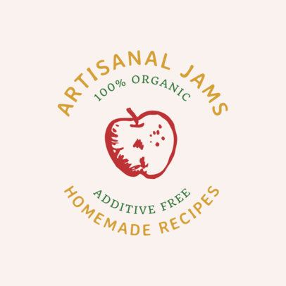 Artisanal Jam Logo Generator for an Organic Products Brand 1287i 36-el