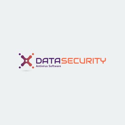 Cybersecurity Logo Generator for an Antivirus Software Brand 1791g 101-el