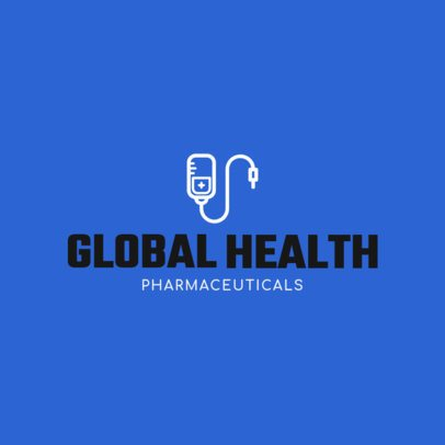 Medical Logo Generator for a Pharmaceutical Company 1172g 79-el